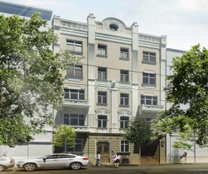 Novostavba Rezidence Vinohradská 33 prodej bytů Praha 2 - Vinohrady