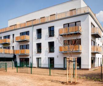 Novostavba Rezidence Lesopark prodej bytů Praha 9 - Letňany