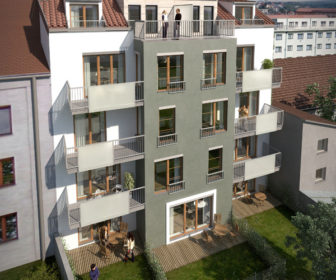 Novostavba Dům nad Marjánkou prodej bytů Praha 6 - Břevnov