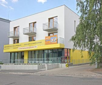 Novostavba Na Kopečku prodej bytů Praha 9 - Horní Počernice