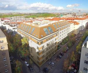 Novostavba Luxembourg SKY prodej bytů Praha 3 - Vinohrady
