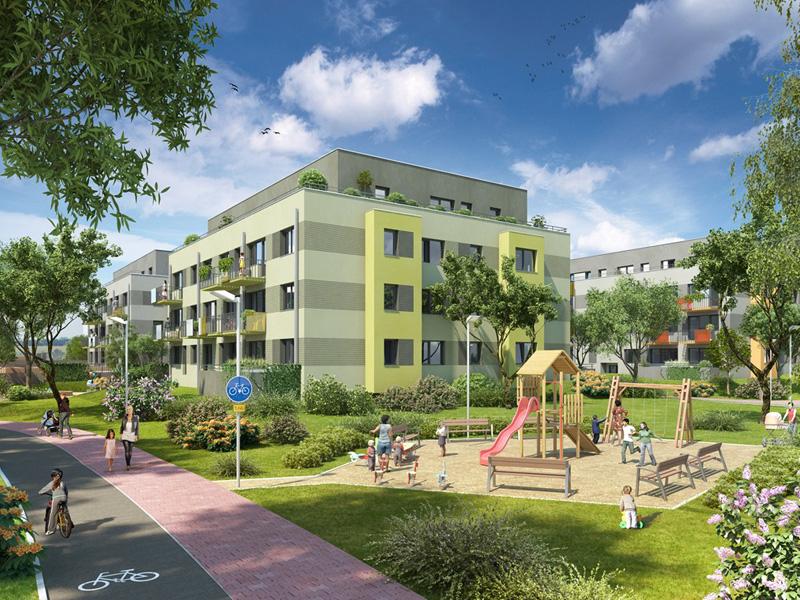 Nové byty Dolní Chabry