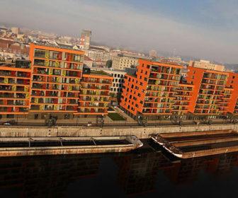Novostavba Prague Marina prodej bytů Praha 7 - Holešovice
