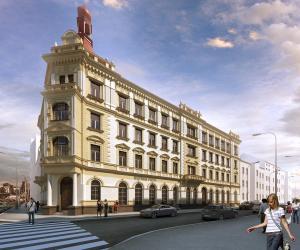 Novostavba Bydlení Světova prodej bytů Praha 8 - Libeň
