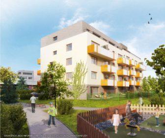 Novostavba KOTI Hyacint Modřany prodej bytů Praha 4 - Modřany