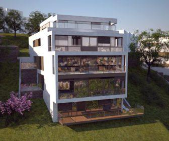 Novostavba Residence Výhledová prodej bytů Praha 5 - Hlubočepy