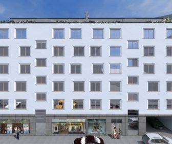 Novostavba Rezidence Green House prodej bytů Praha 9 - Balabenka