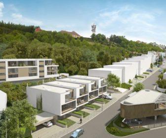 Novostavba Rezidence Spiritka prodej bytů Praha 5 - Strahov