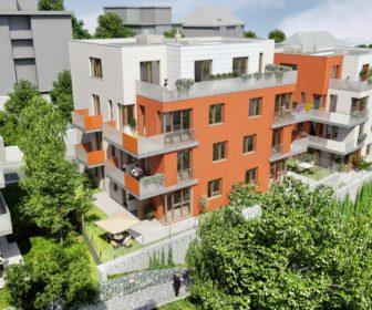 Novostavba Svět Na Pláni prodej bytů Praha 5 - Smíchov