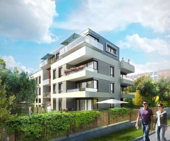 Novostavba Vila Na Výsluní prodej bytů Praha 10 - Strašnice
