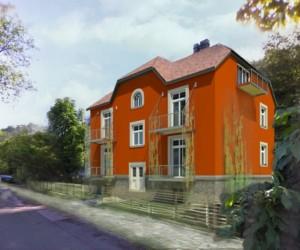 Novostavba Viladům v Zámcích prodej bytů Praha 8 - Troja