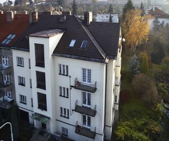 Novostavba Viladům Velvarská prodej bytů Praha 6 - Dejvice