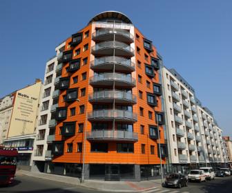 Novostavba Vivus Aréna prodej bytů Praha 9 - Vysočany