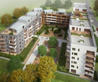 Novostavba Zahrady Opatov prodej bytů Praha 4 - Opatov