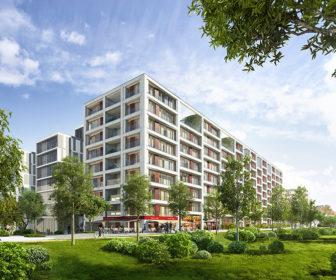 Novostavba Rezidence Vltava prodej bytů Praha 8 - Karlín