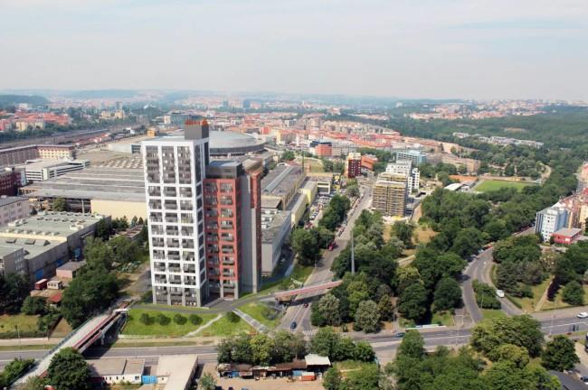Praha 9 – Developerská skupina Gaudí na podzim roku 2014 ve Vysočanech zkolaudovala projekt Rezidence Eliška