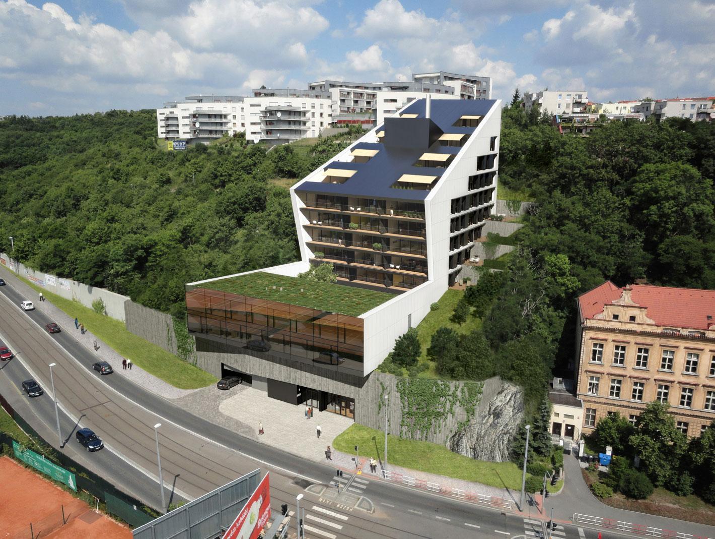Praha 5 chystá  v Radlicích novou budovu s moderním designem a unikátním jménem