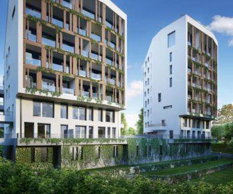 Novostavba Aurora Projekt prodej bytů Praha 10 - Strašnice