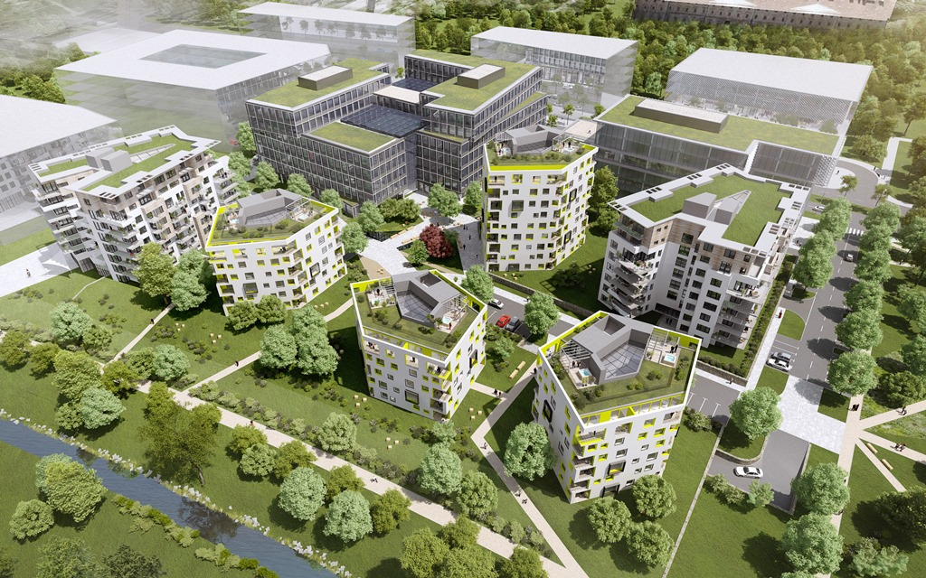 Nové developerské projekty v Praze za 143 miliard