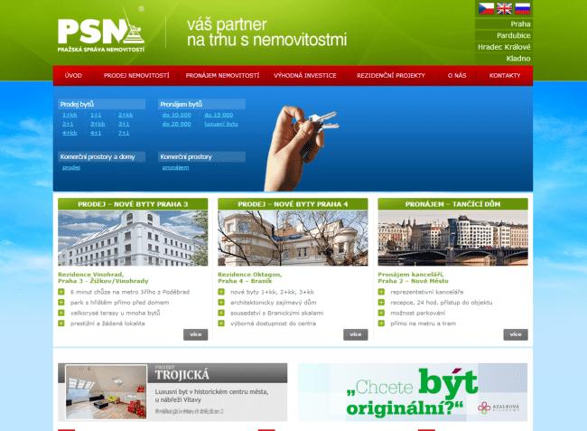 PSN - Pražská Správa Nemovitostí