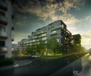 Novostavba 4Blok – Rezidence Vršovice prodej bytů Praha 10 - Vršovice