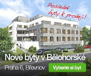 Novostavba Rezidence Bělohorská