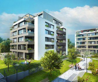 Novostavba Ecocity Malešice III prodej bytů Praha 10 - Malešice