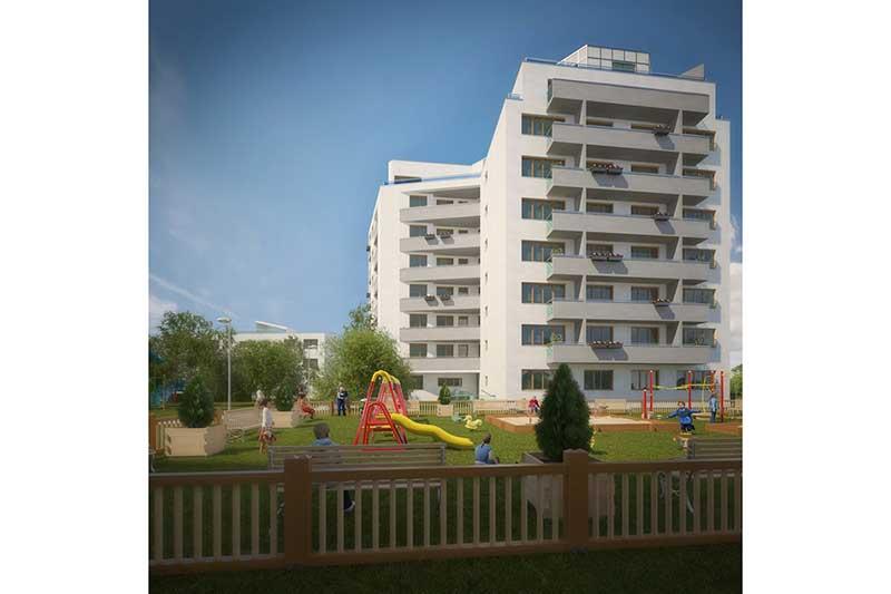 Bytové domy Hostivař