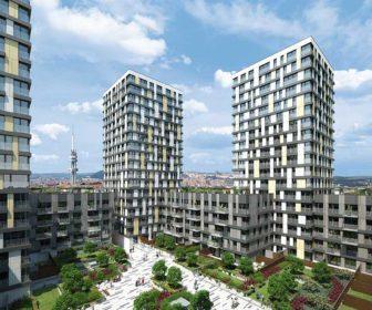 Novostavba Residence Garden Towers prodej bytů Praha 3 - Žižkov