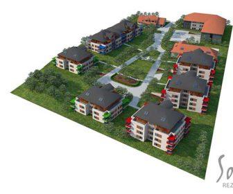 Novostavba Rezidence Sobín prodej bytů Praha 5 - Zličín
