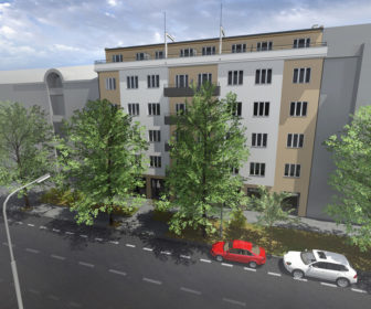 Novostavba Rezidence u Císařského pluku prodej bytů Praha 10 - Vršovice