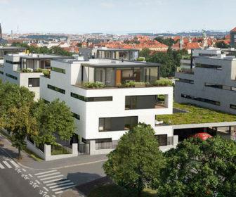 Novostavba Royal Triangle prodej bytů Praha 6 - Střešovice