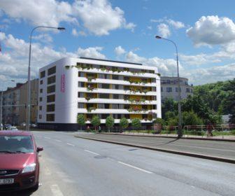 Novostavba Senior rezidence Klamovka prodej bytů Praha 5 - Košíře