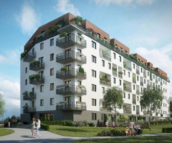 Novostavba Rezidence Veselská prodej bytů Praha 9 - Letňany