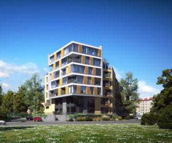 Novostavba Rezidence U Roháčových kasáren prodej bytů Praha 10 - Vršovice