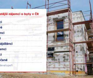 Praha – Až čtvrtinu bytů v ČR si koupí cizinci, a to především z bývalého SSSR