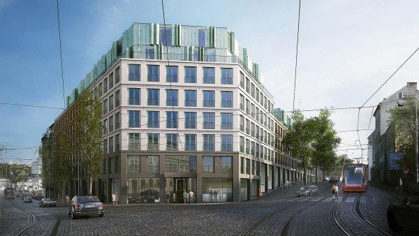 Pražský developer (Karlín Group) plánuje výstavbu 500 nájemních bytů pro studenty v Holešovicích na Praze 7.