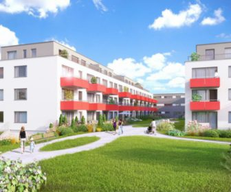 Novostavba Jahodnice H prodej bytů Praha 9 - Hostavice