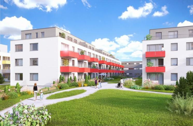 Praha 9 - Skanska zahájila prodej 111 nových bytů (Jahodnice H) na Praze 14 v Hostavicích
