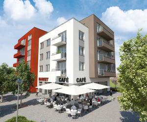 Nove byty Milíčovský háj – Lesní, Sadová