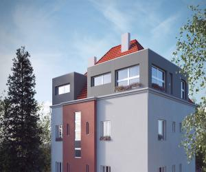 Novostavba Rezidence Prusická prodej bytů Praha 10 - Strašnice