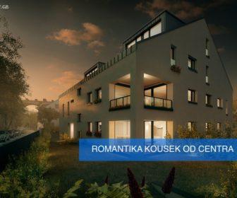 Novostavba Viladům Dalejský Potok prodej bytů Praha 5 - Hlubočepy
