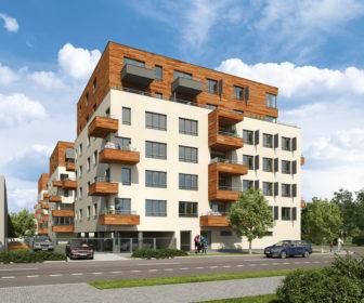 Novostavba Vltavská vyhlídka prodej bytů Praha 7 - Holešovice