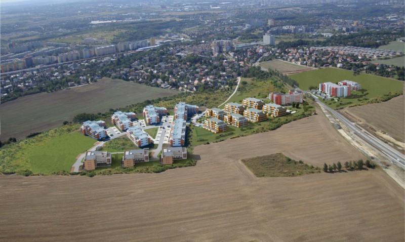 Praha 9 - Ekospol postavil v Kyjích dalších 5 novostaveb s 221 novými byty
