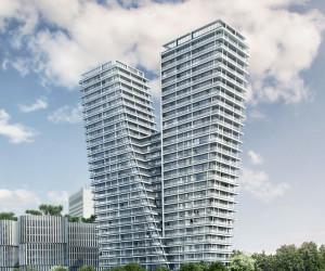 Novostavba V Tower prodej bytů Praha 4 - Pankrác