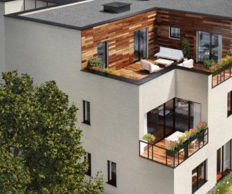 Novostavba Residence La Crone prodej bytů Praha 6 - Břevnov