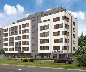 Novostavba Rezidence Břevnovské Centrum prodej bytů Praha 6 - Břevnov