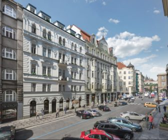 Novostavba Rezidence U Tří kaprů prodej bytů Praha 1 - Staré Město