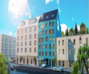 Novostavba Bytový dům ARGO prodej bytů Praha 9 - Libeň