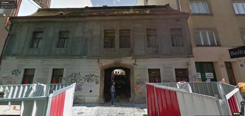 Nové Město - V Soukenické ulici na Praze 1 vzniknou nové byty. Novostavba by měla nahradit historický dům